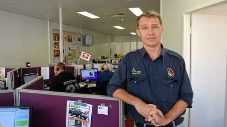 Rural Fire Brigades Association Queensland general manager Justin Choveaux says he is angry thieves have targeted his charity twice in three days.