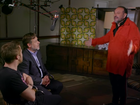 Stars get a dressing down from Producer Joel Silver about promoting their latest film.