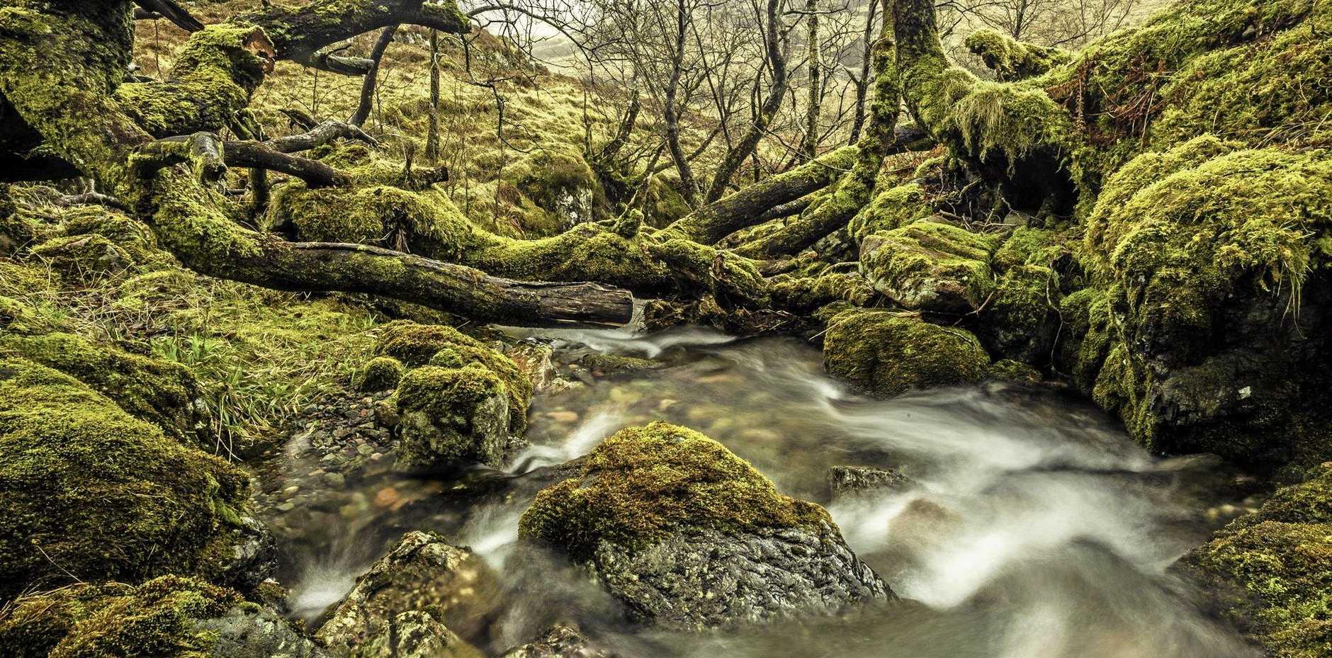 ABOVE: Picturesque Glencoe