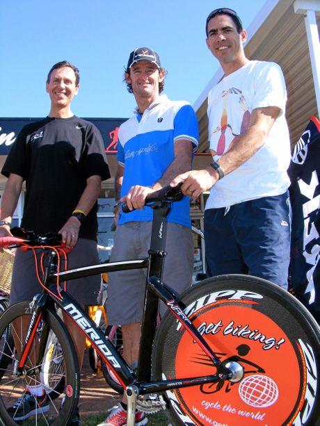 Allen Cuttler, Scott Penny and Chris Bray.