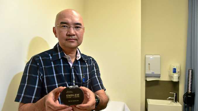 Sunshine Coast University Private Hospital's Dr KK Lim has implanted the revolutionary S-ICD implantable defibrillator system.