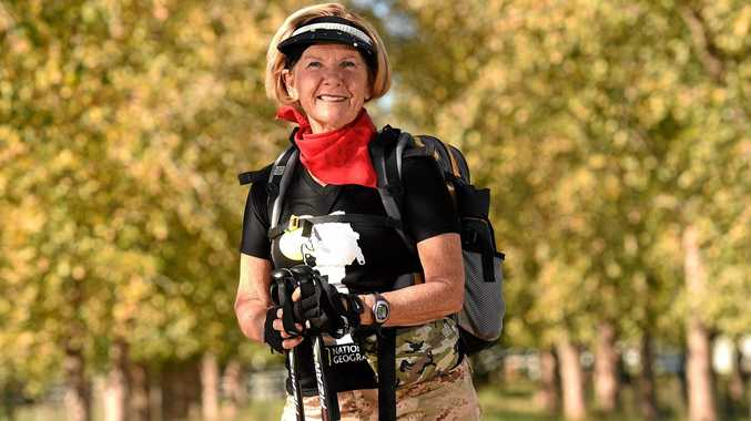THE ROAD AHEAD: Margaret Rolling is heading to Spain on a 817km fundraising hike.