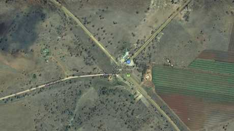 A man was airlifted to Bundaberg Hospital after a single-vehicle rollover on the Burnett Hwy just before lunch.