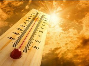 Mercury rises with temperatures set to be well above average