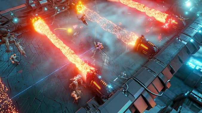 TEAM EFFORT: Alienation is a slick game with easy-to-learn skills and a great online component.