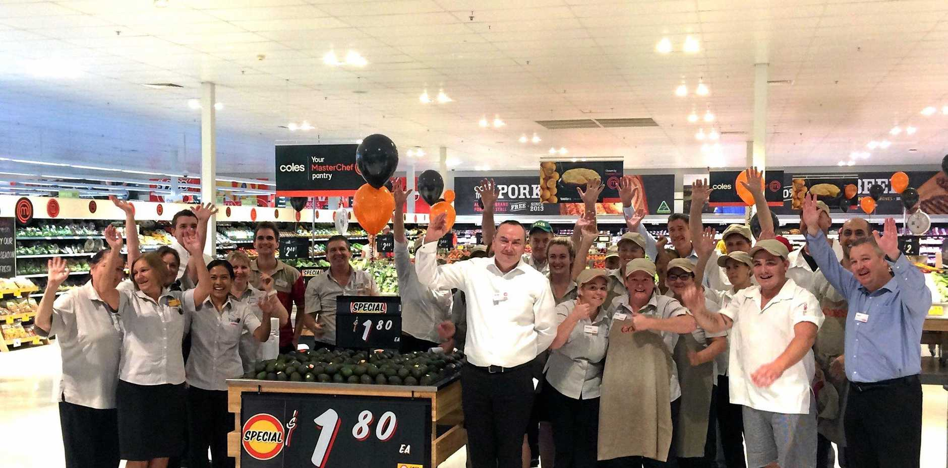 New Look Coles A Boost For Local Jobs Observer
