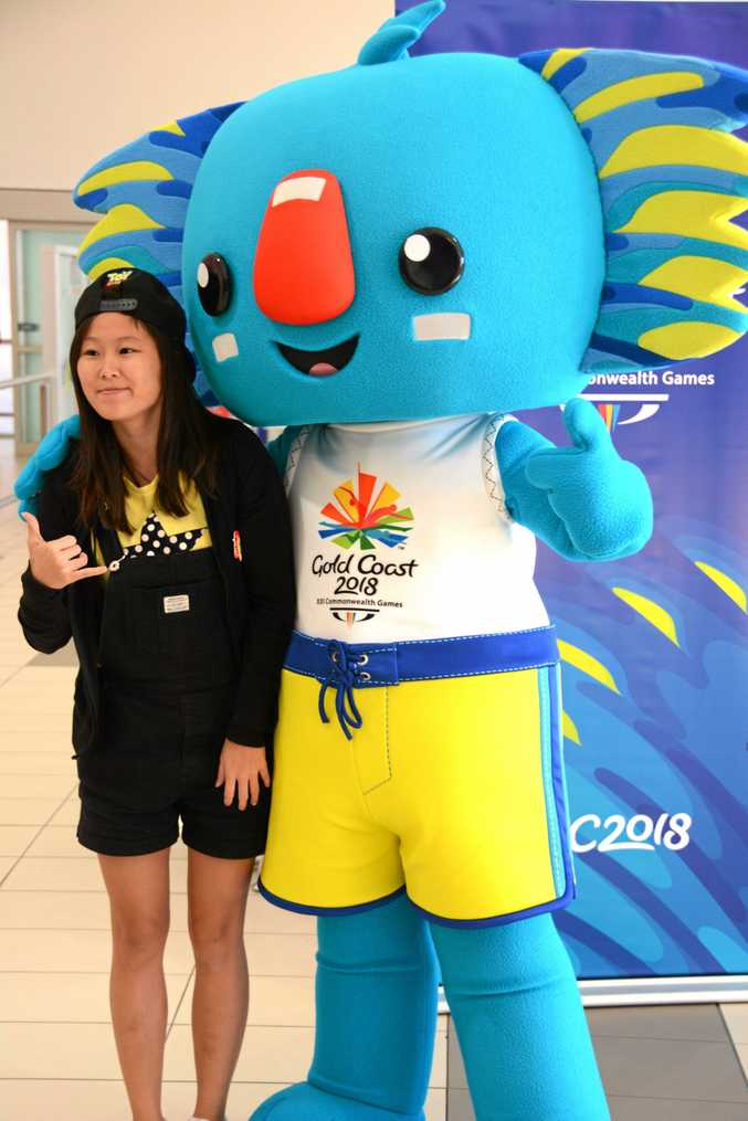 Commonwealth Games ... chance to meet some colourful characters.