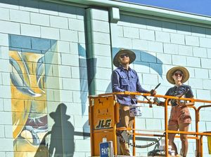 First Coat festival murals add social commentary