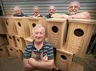 Men's Shed blitzes the possum renovation rescue