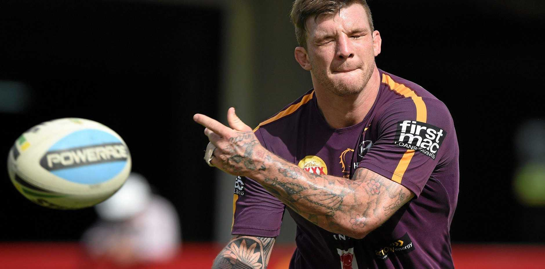 READY FOR GALLEN: Josh McGuire.