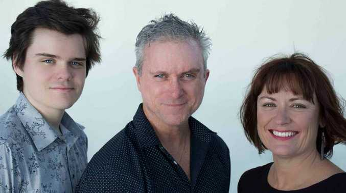Lucas Lynch, Paul Lynch and Tracey Ferguson are excited to hit the stage.