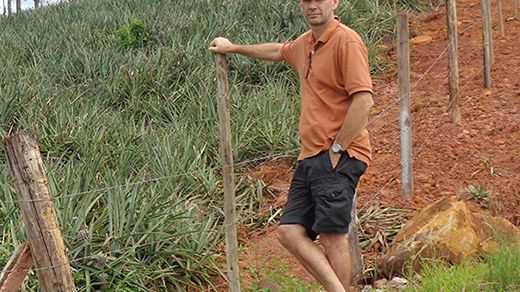 Professor of Horticulture Steven Underhill