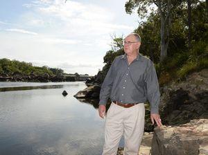 SunWater defends delay in repairing weir fish lock