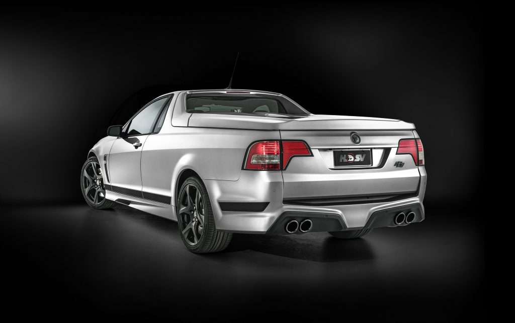 2016 HSV Maloo R8 SV Black. Photo: Contributed