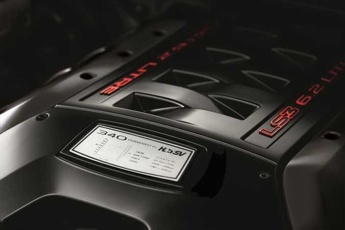 HSV's LS3 6.2-litre V8. Photo: Contribution