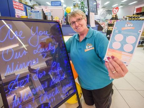 Owner of Shoppingworld News Rose Driver is looking for the unregistered winner of a Win For Life ticket worth almost $5 million.