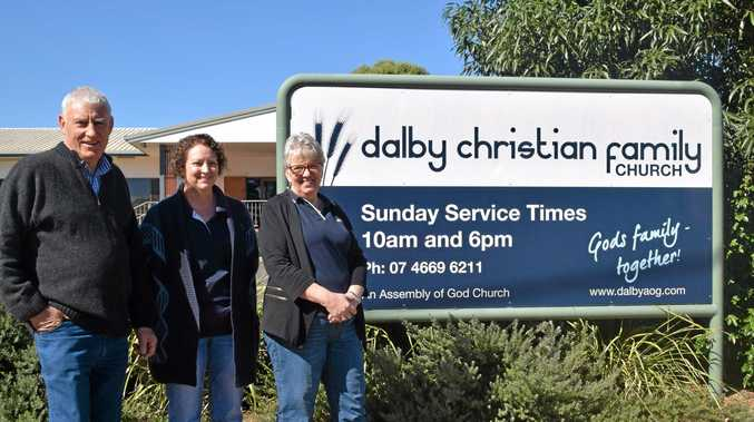 FIGHT THE GOOD FIGHT: Pastor Murray Tomlinson, debt coach Vicki Gibbs and centre manager Lynda Hammond are fighting against poverty.
