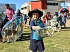 Students have fun for Under Eight's 60 years celebrations