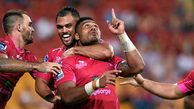 IN LINE FOR A WALLABIES DEBUT: Samu Kerevi of the Queensland Reds.