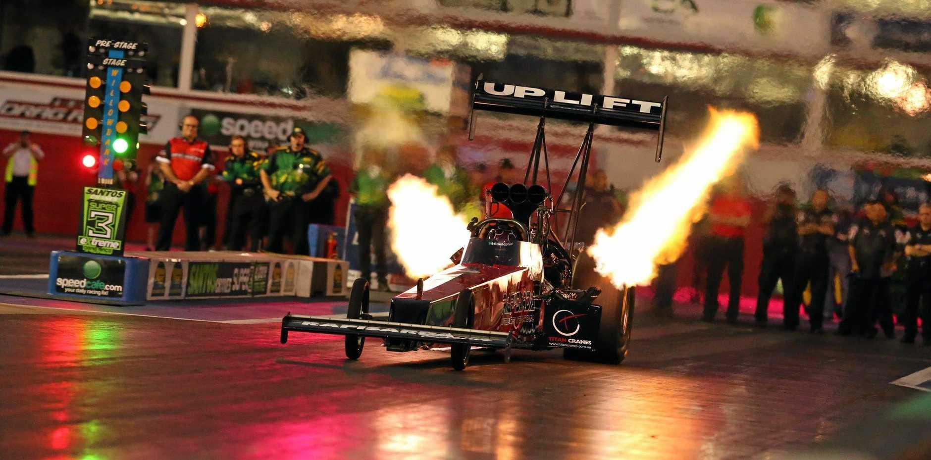 American Top Fuel drag racer Larry Dixon