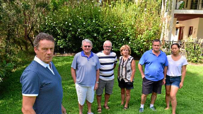 Ian Davis, Bob Joubert, Greg Smith, Dianne Smith and Grant and Miao Thomas are concerned about Aveo's application to develop parts of the Peregian Springs golf course for residential housing.