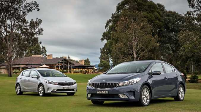 UPGRADED: New Kia Cerato hatch and sedan models come in four grades, each with the same 2.0-litre four-cylinder engine and starting from under $20,000 drive away with free auto gearbox.