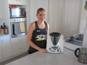 Thermomix explodes leaving mum with burns