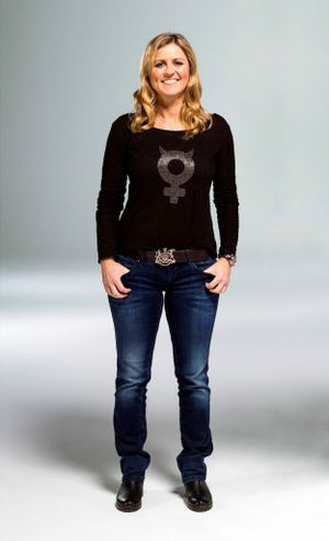 Top Gear presenter Sabine Schmitz. Photo: Contributed.