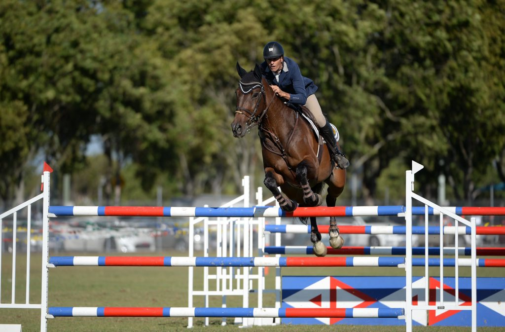 GRAND PRIX: Clem Smith competing in the Queensland State Country Championships. Photo: Mike Knott / NewsMail