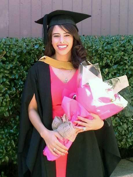 USQ Science graduate Ms Mary Salama.
