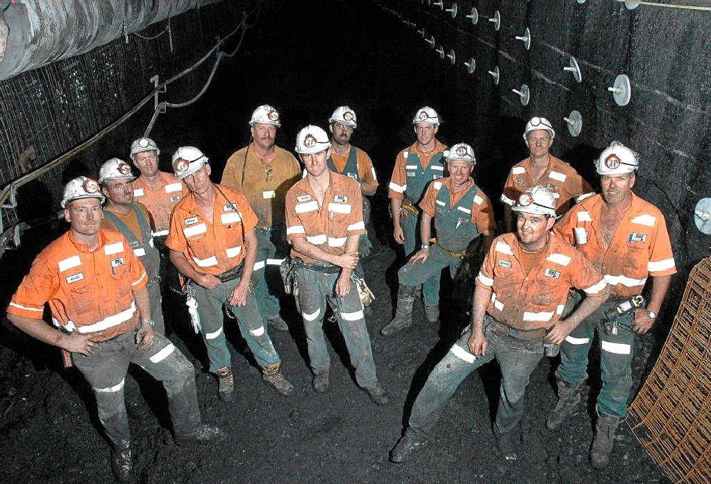UNDERGROUND OPTIONS: Underground mining may provide more job opportunities in the next decade.