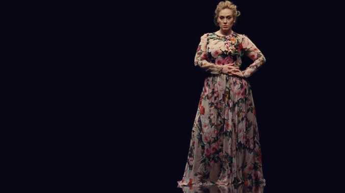 Adele looking slimmer in her new video Send My Love (To Your New Lover)