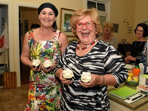 Breast-cakes raise awareness at Lockyer morning tea