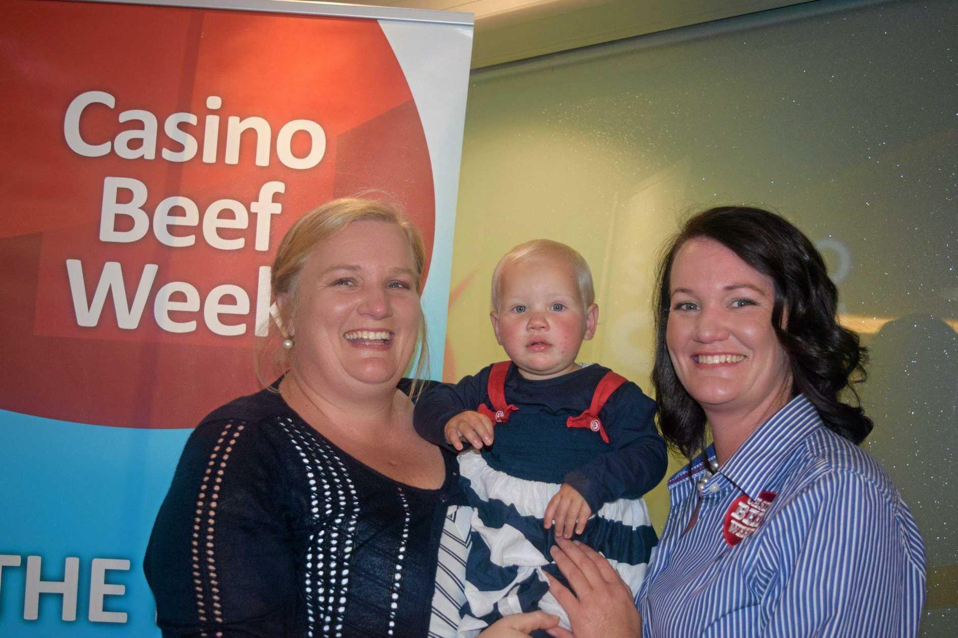 FAMILY: Sonia Butler and baby Emily Butler and sister Belinda Dockrill.