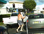 VIDEO: Tattooed man goes on violent road rampage
