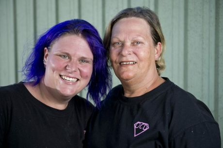 LIFE GOES ON: Nadisha and Bree Johnson want other victims of domestic and family violence to know they can leave an abusive relationship and go on to lead happy lives.