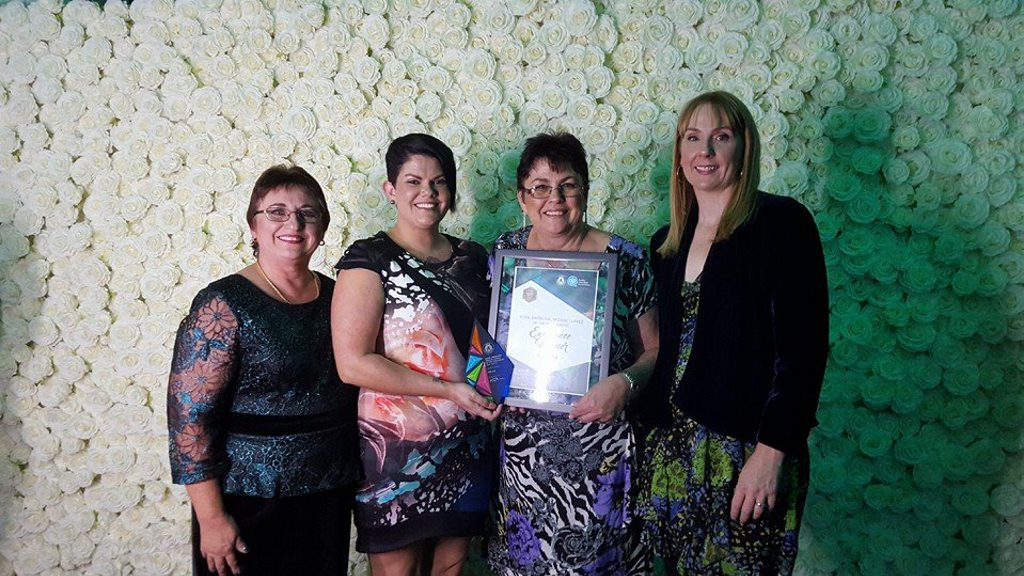 LEADERS: The IWC won the AGPAL National Award for Aboriginal Medical Service of the Year.