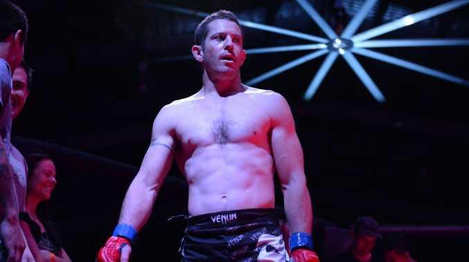 MMA, Rockhampton fighter Brandt Cogill. Photo Allan Reinikka / The Morning Bulletin