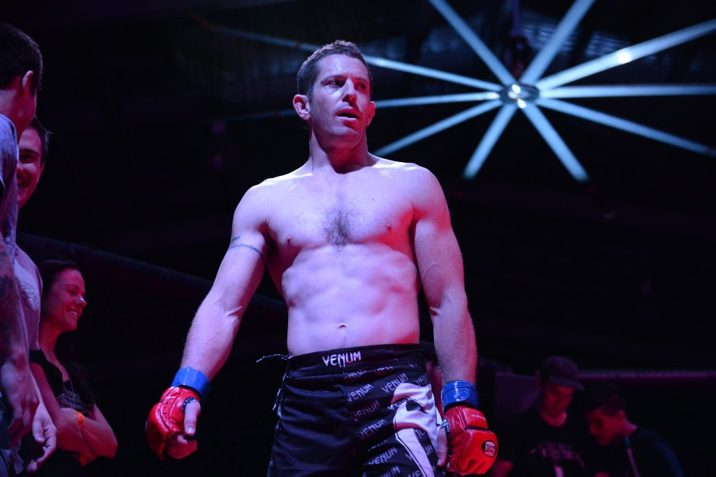 MMA, Rockhampton fighter Brandt Cogill. Photo Allan Reinikka / The Morning Bulletin
