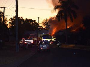 GALLERY: Crime scene set up at Biloela house blaze