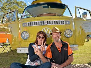 Kombi lovers roll into town