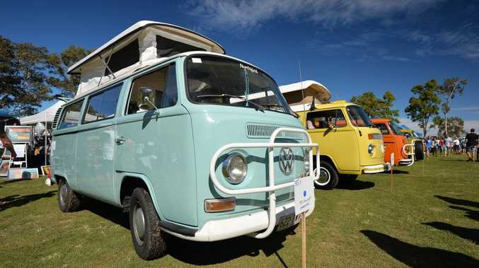 Kombi Show and Shine at the Mooloolaba State School. May 29, 2016.