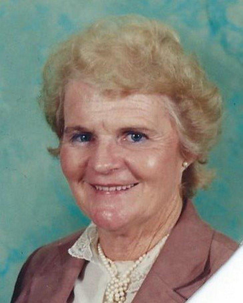 Lismore hockey legend Gloria Mortimer.