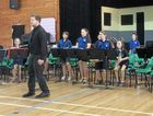 WELL PLAYED: Charleville primary school kids performed at Fanfare last week.