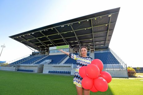 VERSATILE: The Sunshine Coast Stadium has been used for major fundraisers as well as sporting events.