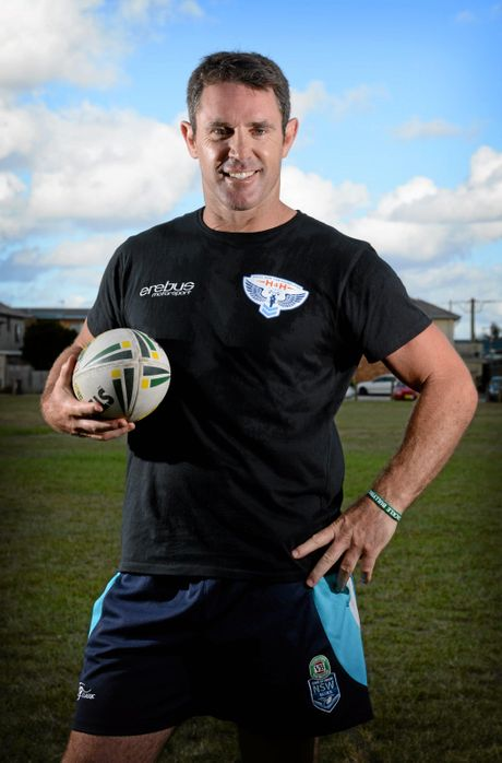 Former NRL star Brad Fittler is the head coach and presenter of Nine's new reality show The Rookie.
