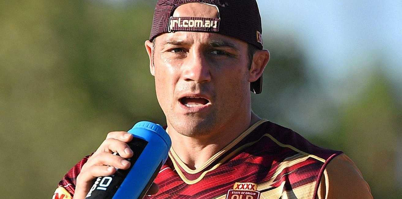 Cooper Cronk will have to prove his fitness today.