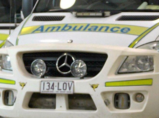 Queensland Ambulance Service.Photo: Max Fleet / NewsMail
