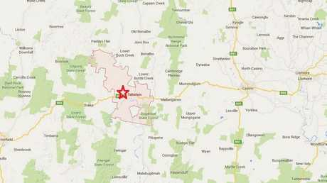 Shots have been fired in the village of Tabulam located 58km west of Casino on the Bruxner Highway.
