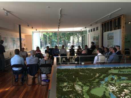 Participants at Sekisui's Yaroomba meeting this morning.
